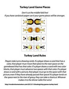 thanksgiving games 2013 the gallery for gt printable board game pieces