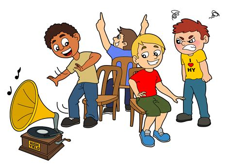 Musical Chairs by Clipart Musical Chair Pencil And In Color