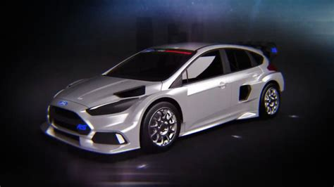 Ford Focus Rs Rx For Sale ken block teases ford focus rs rx as the gymkhana 9