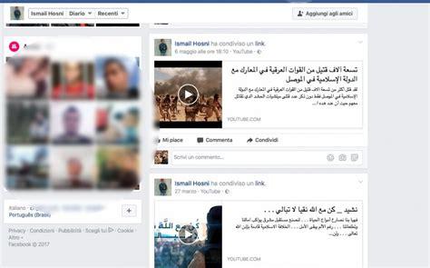 fb della milano video dell isis sul profilo fb l aggressore della