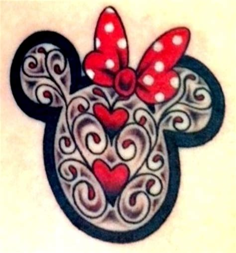 minnie mouse bow tattoo 25 best ideas about minnie on mickey
