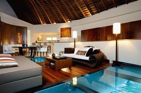 exotic  retreat spa maldives  luxury bungalows