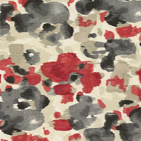 watercolor upholstery fabric red gray dappled watercolor fabric contemporary