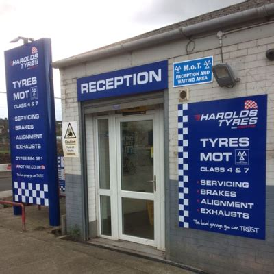 Car Tyres Penrith by Harolds Tyres In Penrith Affordable Tyres Mot