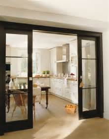 Living Room Opens Into Dining Room Mad About Black Doors Barn Doors Interior Doors And