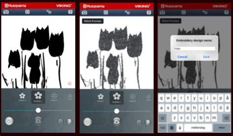 quick layout app quickdesign app husqvarna viking 174