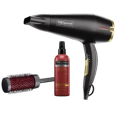 Hair Dryer Keratin new tresemme tre 5542ku keratin salon smooth set