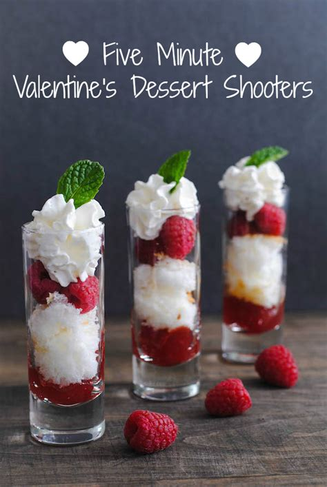 five minute valentine s day dessert shooters foxes love lemons