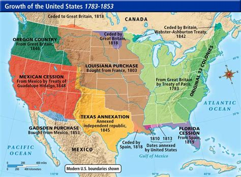 united states territorial growth map us history maps