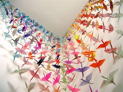 1000 Paper Cranes - 1000 paper crane www pixshark images galleries