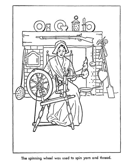 early coloring pages usa printables early american occupations coloring pages