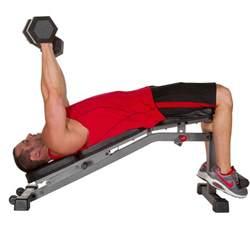 Dumbbell Incline Bench Xmark Fitness Adjustable Flat Incline Decline Dumbbell