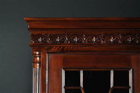 dining room china cabinet ball claw mahogany dining room china cabinet with gadroon