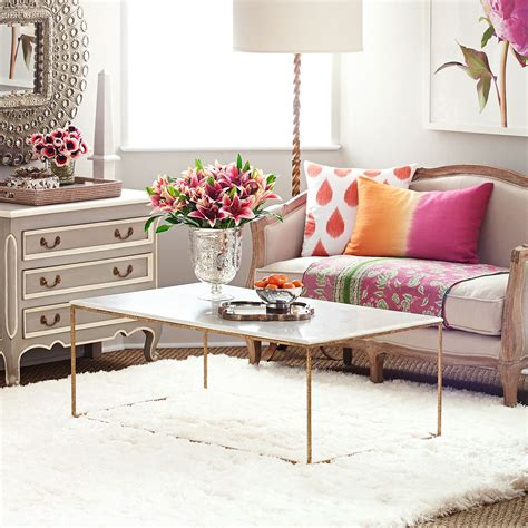 wisteria coffee table gold leaf collection coffee table wisteria