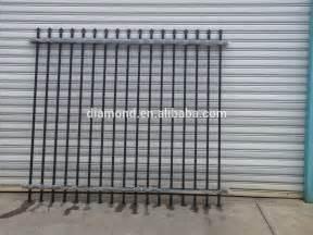 galvanized steel fence panels metal fence panels