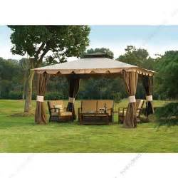 Ocean State Job Lot Gazebo by Sunjoydirect Com Sunjoy Ocean State Job Lots Osj 10x12