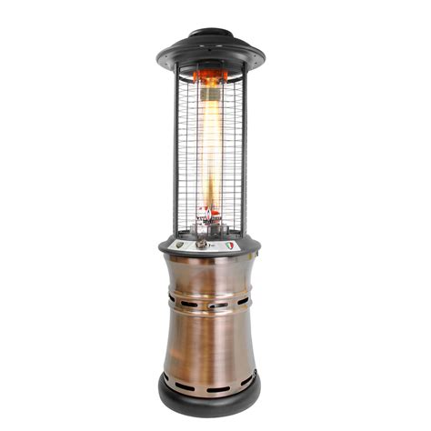 Italia Patio Heater by Italia Cylindrical Collapsible 6 Ft Commercial