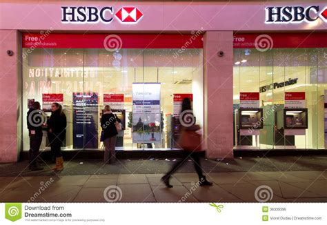 hsbc bank image hsbc bank editorial photo image of financial 36339396