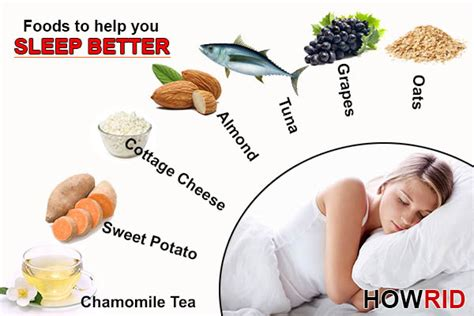 6 Remedies To Help You Sleep Better by Foods To Help You Sleep Better