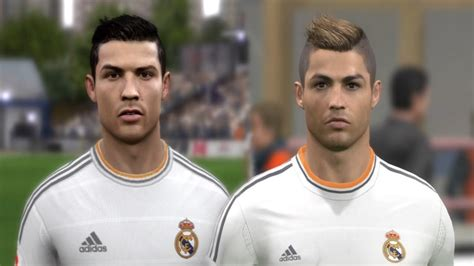 how to get ronaldos hair fifa 15 cristiano ronaldo from fifa 04 to 14 pes 3 to pes 2014