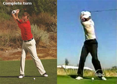 full shoulder turn golf swing full shoulder turn in golf swing 28 images a proper