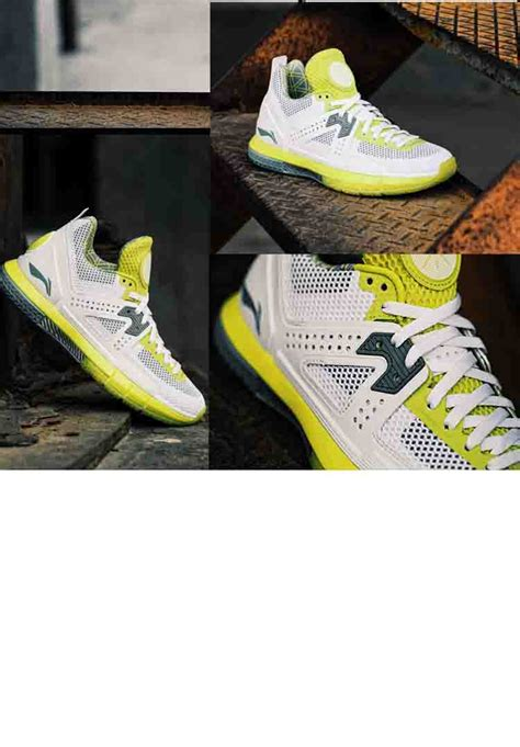 basketball shoes information li ning way of wade 5 quot white volt quot mens professional