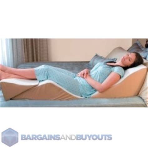 Wedge Pillow For Sleeping Upright by Multi Position Foam Back Max Bed Wedge Pillow 8830100 Ebay