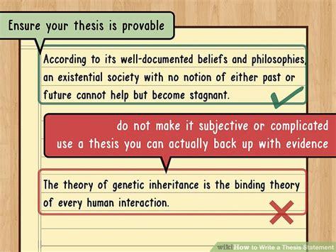 construct a thesis the best way to write a thesis statement with exles