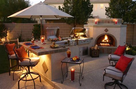 backyard bbq area design ideas design ext 233 rieur mobilier et 233 clairage pour terrasse et