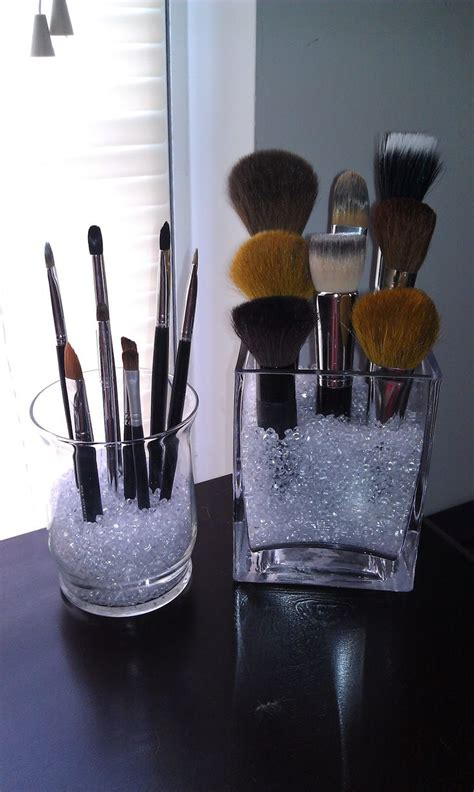 put in makeup brush holder best 25 makeup brush organizer ideas on