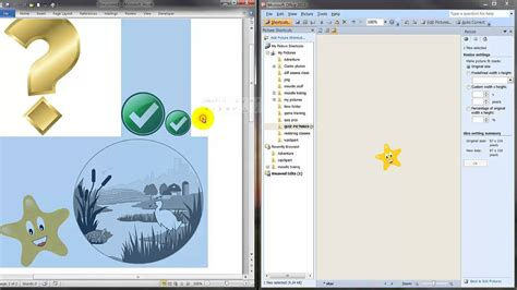 adding templates to word preparing adding pictures for word template moodle