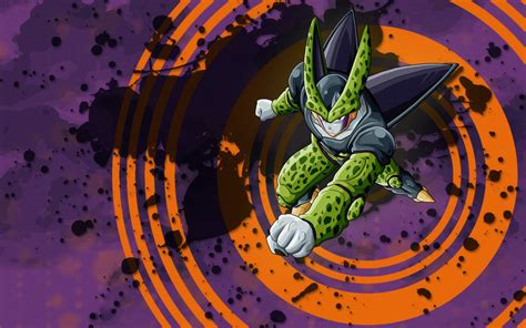 dragon ball cell wallpaper perfect cell wallpaper by edalyne on deviantart