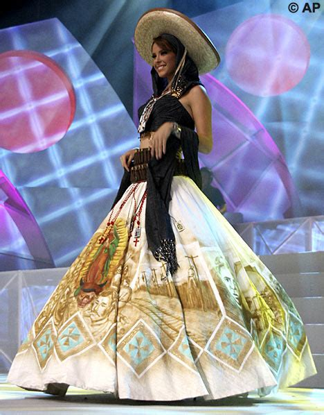 Miss Mexico Wont Wear Dress For Miss Universe Pageant by Miss Universe S Dress Condemned For Being