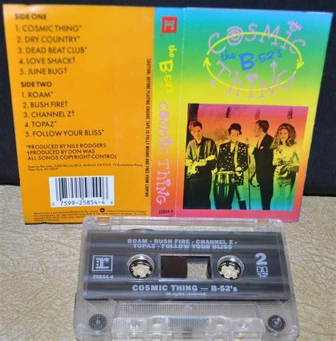cassette cosmic the b 52s cosmic thing cassette ebay