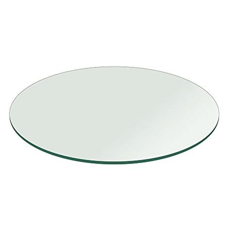 48 inch round tempered glass table top glass table top 48 inch round 1 4 inch thick flat