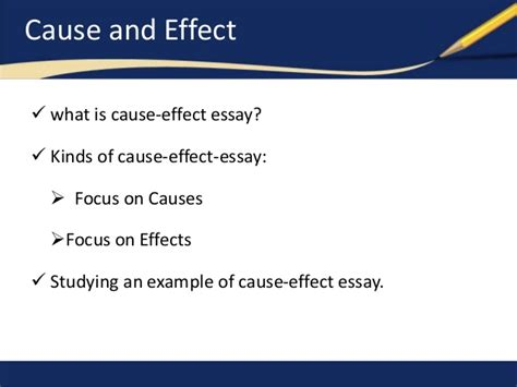 Sles Of Cause And Effect Essay cause effect essay sles free 28 images breaking the