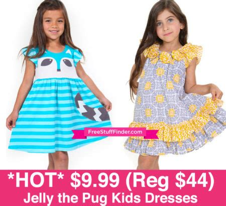 jelly the pug sale 9 99 reg 44 jelly the pug dresses ends 8 11 free stuff finder