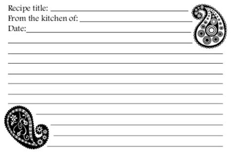 free printable recipe cards black and white black and white printable recipe cards pictures to pin on
