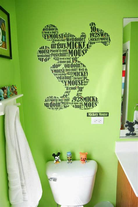 Mickey Mouse Bathroom Ideas by Best 25 Mickey Mouse Bathroom Ideas Only On