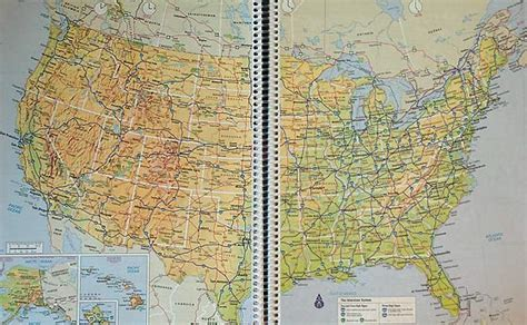 road atlas map road atlas map for each state