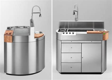 All In One Kitchen Sink Unit Cheope All In One Outdoor Kitchen Is Probably Cooler Than
