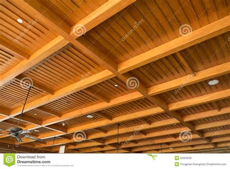 False Roof House Plans wood ceiling stock image image of design structure