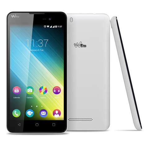 blanc mobili wiko lenny 2 blanc mobile smartphone wiko sur ldlc