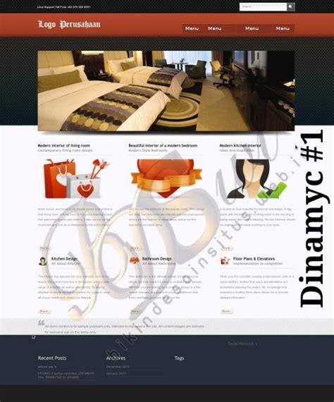 contoh layout desain web contoh desain website toko online perusahaan