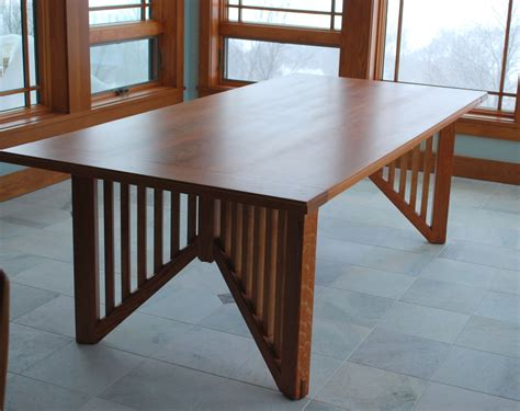 frank lloyd wright desk wright oak dining in the style of frank lloyd wright
