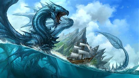 sea monster desktop wallpapers wallpaper high definition high quality widescreen