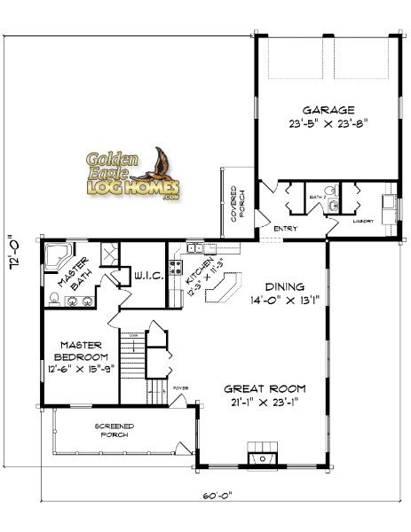 mn home builders floor plans golden eagle log and timber homes floor plan details
