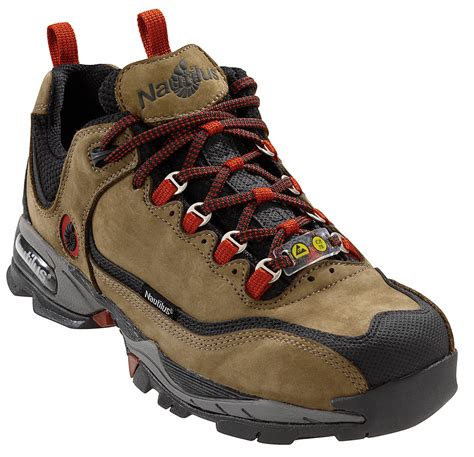athletic toe shoes nautilus mens steel toe athletic xxw moss nubuck leather
