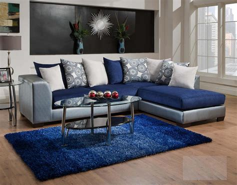 silver living room furniture 835 06 royal blue living room only 579 95 living room