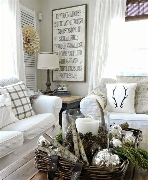 cool ways  cozy   living room  winter digsdigs